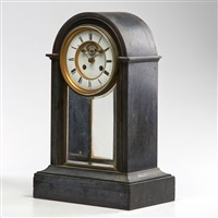 mantle clock with time and strike movement by tiffany & company