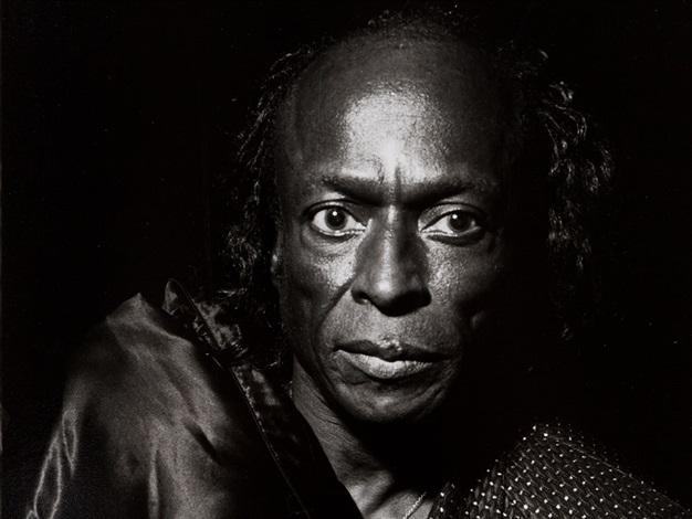 miles davis portrait