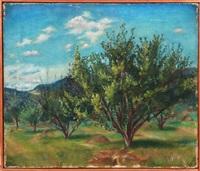 untitled - landscape by felicia (mrs. reg. marsh) meyer