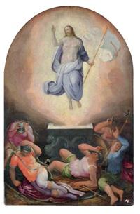 resurrezione by giorgio vasari