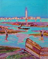 lagune de venise et burano by charles lapicque