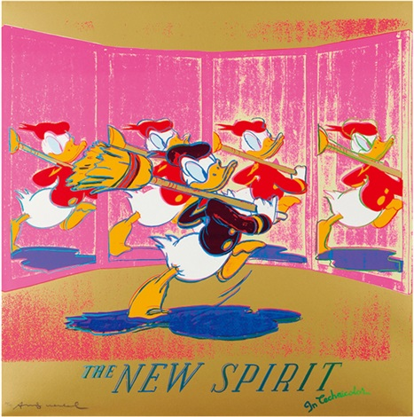 the new spirit by andy warhol