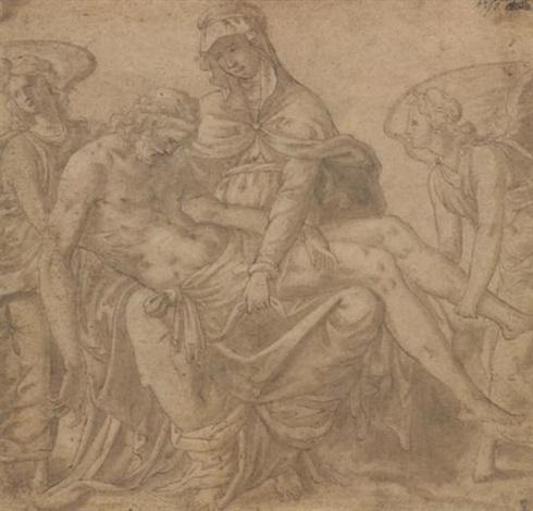 pietà by luca romano penni