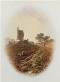 the mill road (+ the church lane; 2 works) by william (of plymouth) williams