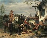 a break in the action by wilhelm camphausen