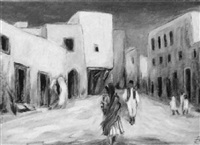 in nordafrika by rudolf baschant