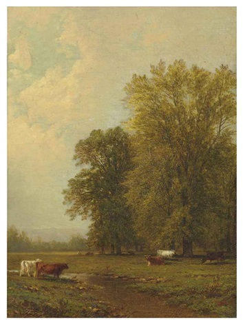 saratoga landscape by john william casilear