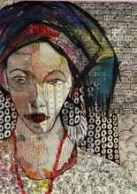 women delegate i-iv (6 works) by nike davies-okundaye