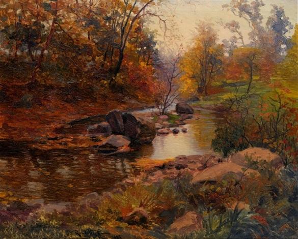 autumn forest by mikhail rundaltsov