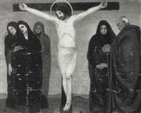 crocifissione by emilio sobrero