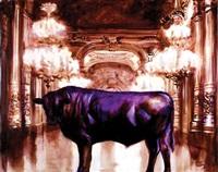 taureau violet by gheorghe fikl
