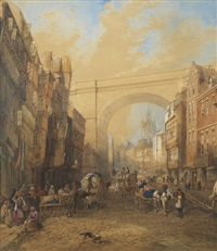 newcastle railway arch by edward richardson