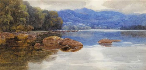 lough eske county donegal by mary georgina barton