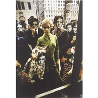twiggy in new york (2 works) by melvin sokolsky