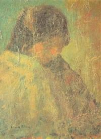 mujer con mantón by francisco camps ribera