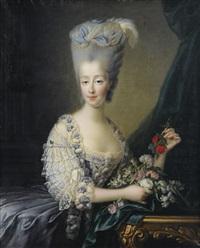 portrait de madame la comtesse d'artois by françois hubert drouais
