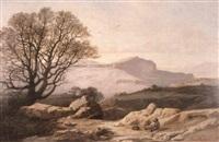 montagne de cipers, près de grasse by antoine eugène ernest buttura
