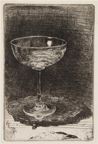 the wine glass by james abbott mcneill whistler
