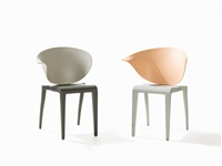 boom rang chairs (set of 5) by philippe starck