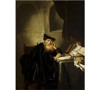 philosopher by salomon koninck