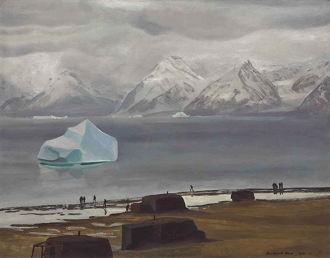 spring thaw greenland by rockwell kent