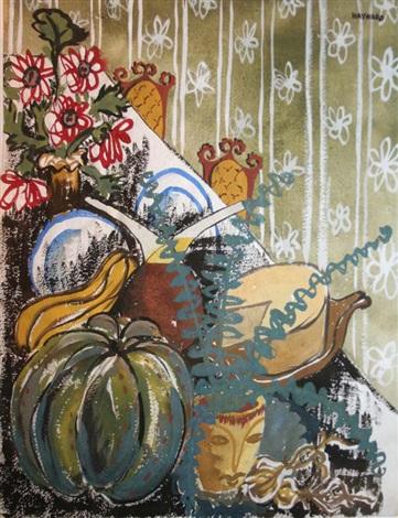 table top still life by phyllis hayward