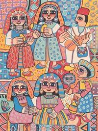 cérémonie du henné by fatna gbouri