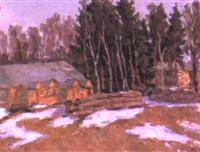 la fonte des neiges by nikolai maksimovich melnikov