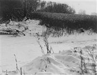 ohne titel (verschneite landschaft) by ewald hoinkis