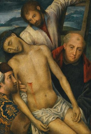the deposition of christ by hans memling