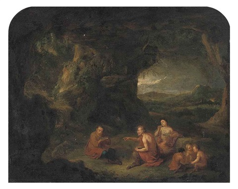 the satyr and the peasant by cornelis huysmans