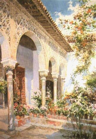 les jardins de lalhambra by emile marin - Jardin De L Alhambra
