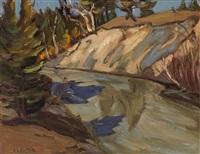 quyon river, quyon, que. by ralph wallace burton