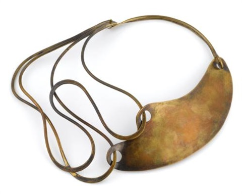 half and half necklace by art smith