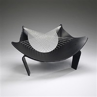 wing lounge chair by peter karpf
