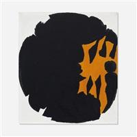 black, orange, white by jack youngerman