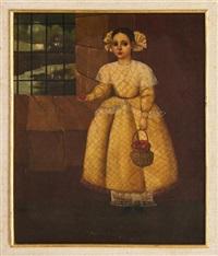 niña con vestido amarillo by horacio rentería rocha