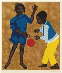 for the boys and girls who grew in spite of these things (from for my people) by elizabeth catlett