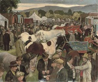 the appleby horse fair by james bateman