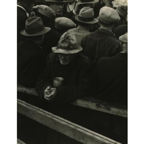 white angel bread line by dorothea lange