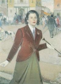 ritratto di signora by lino baccarini