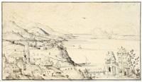 landschaft mit blick auf eine bucht by anonymous-dutch (16)