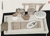 浮生日闲 (teapots) by ba qiu