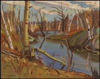 late autumn, dunrobin, ont by ralph wallace burton