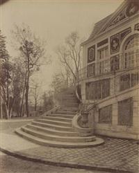 juvisy, château xviiè siècle by eugène atget