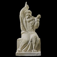 seated moses (study for the jewish memorial) by ivan mestrovic