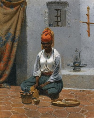 making tea in algiers by vasili fedorovich george wilhelm timm
