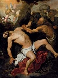 martirio di san bartolomeo by orazio ferraro