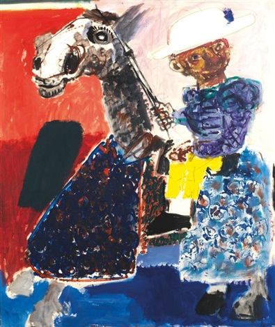 picador à cheval by bernard lorjou