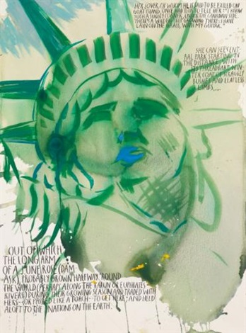 no title her lover of by raymond pettibon